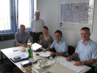 Cooperation with DeSK and DLR