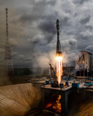 Launch of BEESAT-10...13 with Soyuz on 2019-07-05